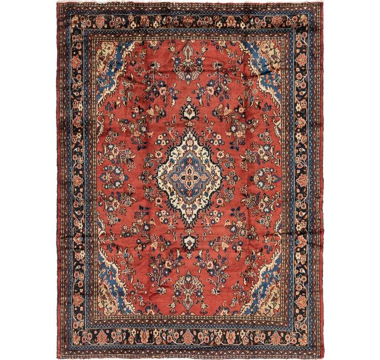 270cm x 348cm Hamedan Persian Rug