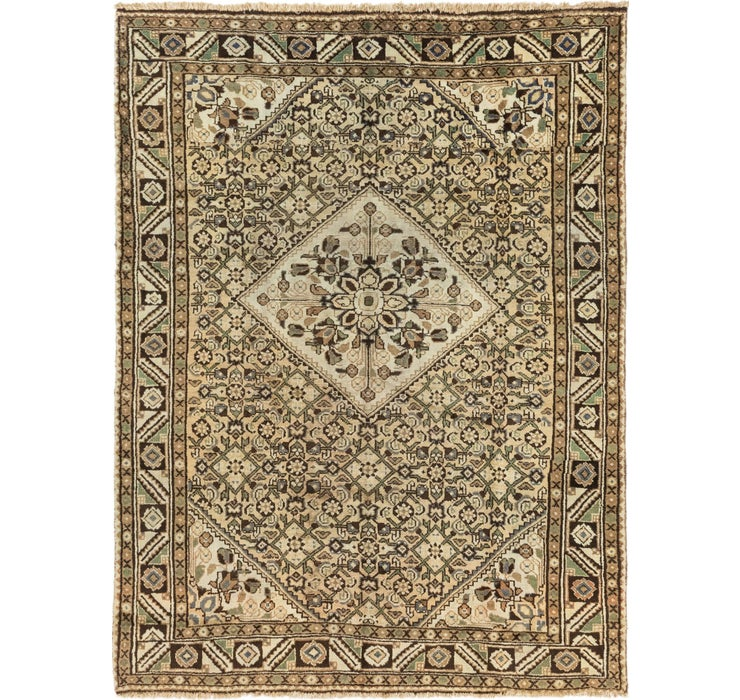 205cm x 287cm Hossainabad Persian Rug