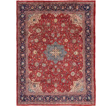 Image of 10' x 13' 2 Mahal Persian Rug