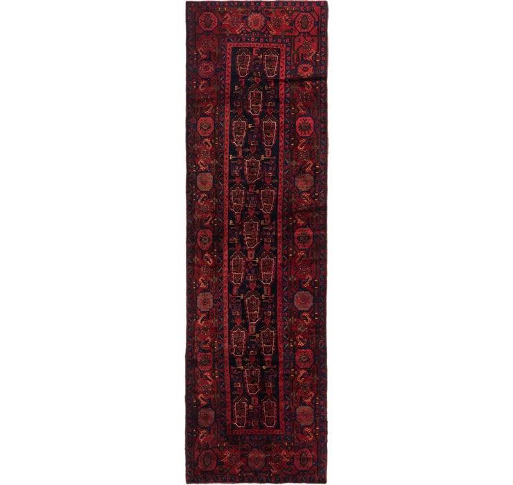 3' 8 x 12' 10 Shahsavand Persian Runn...