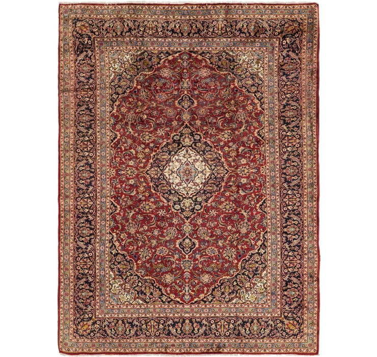 9' 5 x 12' 9 Kashan Persian Rug