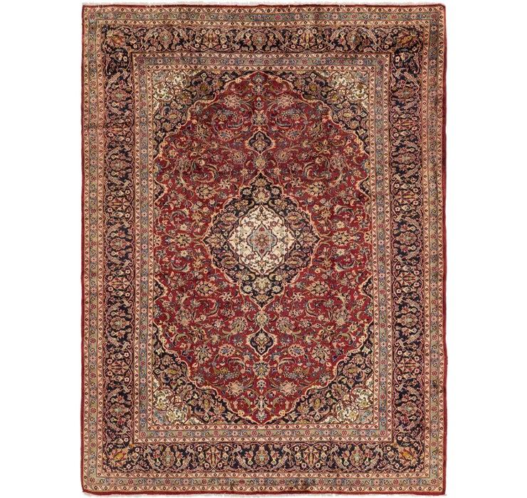 287cm x 390cm Kashan Persian Rug