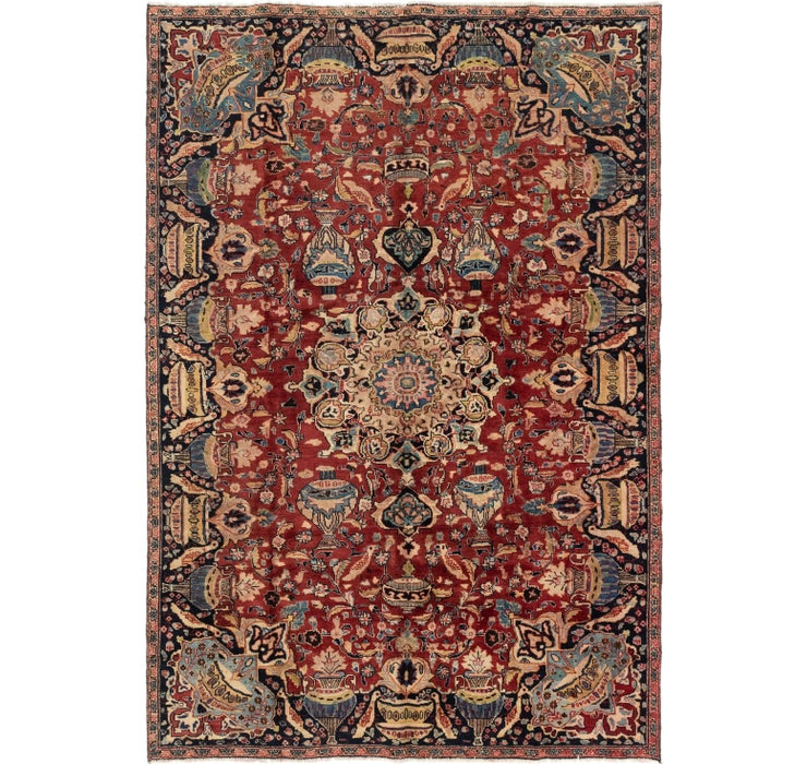 203cm x 297cm Tabriz Persian Rug