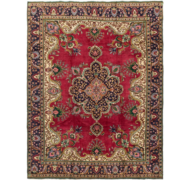 9' 5 x 12' 5 Tabriz Persian Rug