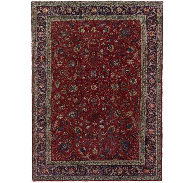 9' 9 x 14' Tabriz Persian Rug