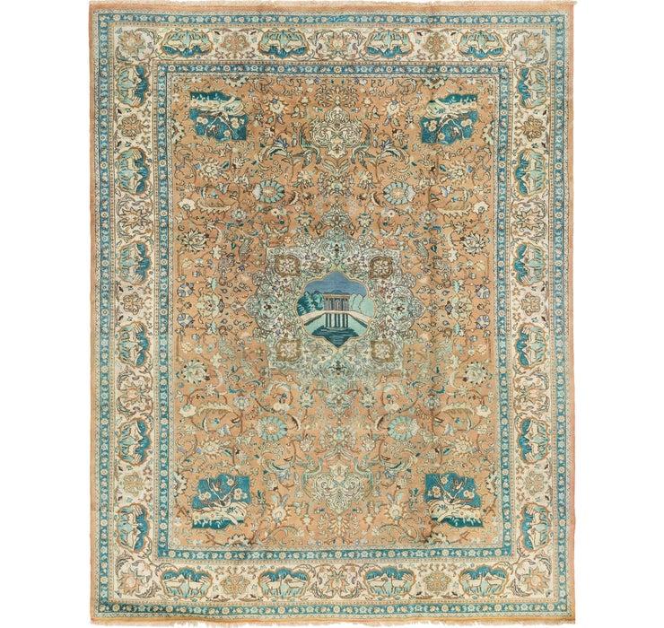 297cm x 395cm Tabriz Persian Rug