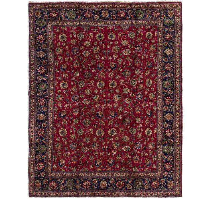 295cm x 370cm Tabriz Persian Rug