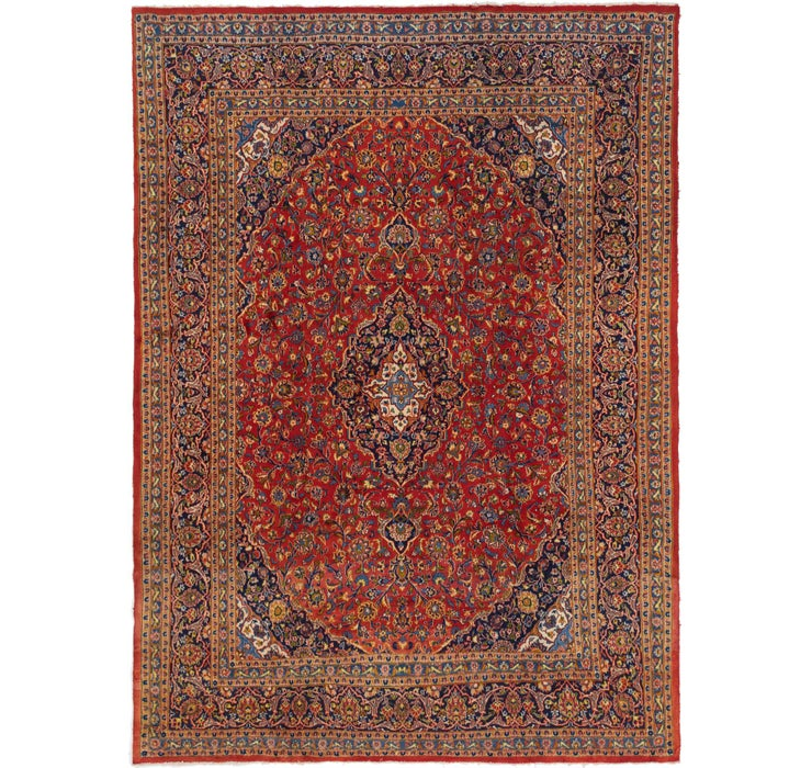 290cm x 395cm Mashad Persian Rug