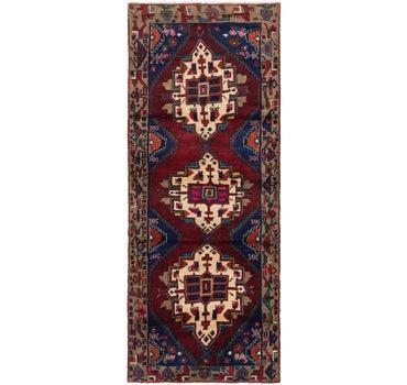 3' 7 x 9' 9 Hamedan Persian Runner Rug main image
