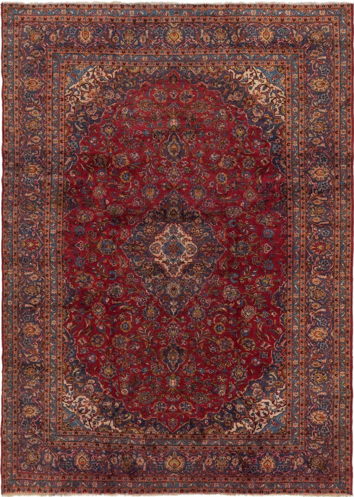 9' 7 x 13' 2 Mashad Persian Rug main image