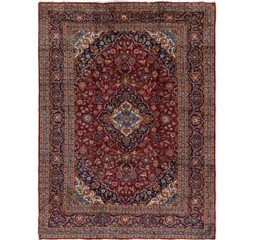 Image of 9' 8 x 13' Kashan Persian Rug