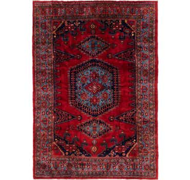 Image of 7' 9 x 11' Viss Persian Rug