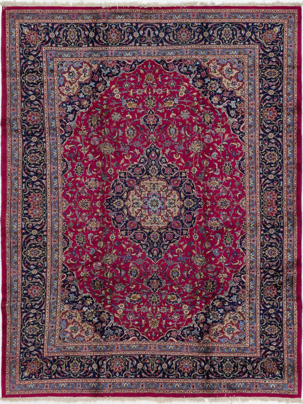 9' 8 x 13' Mashad Persian Rug main image