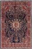 6' 9 x 10' 2 Hamedan Persian Rug thumbnail