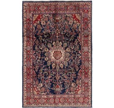 6' 9 x 10' 2 Hamedan Persian Rug main image