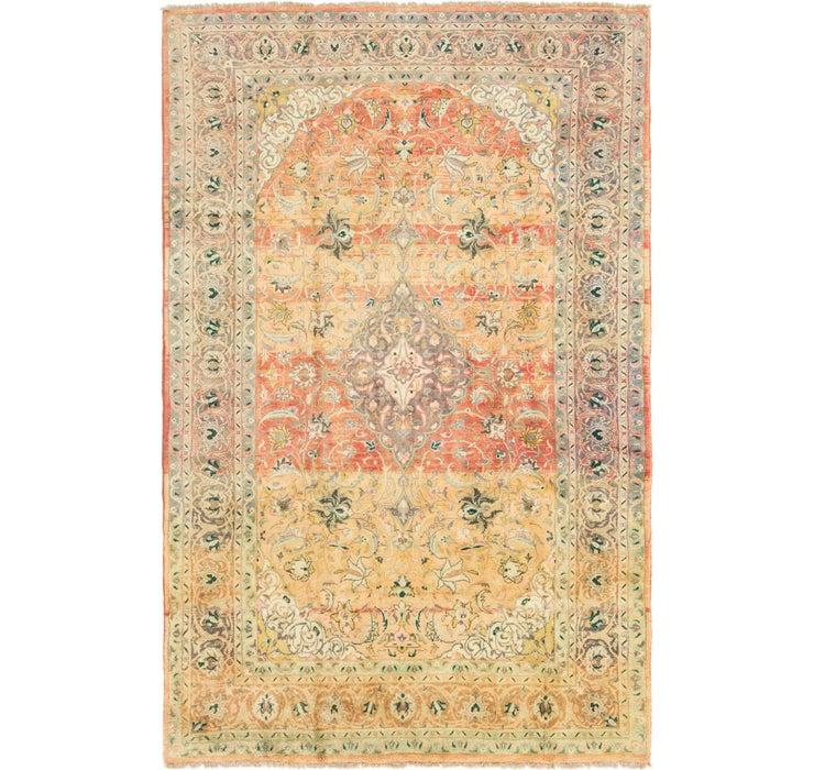 7' 7 x 12' Mashad Persian Rug