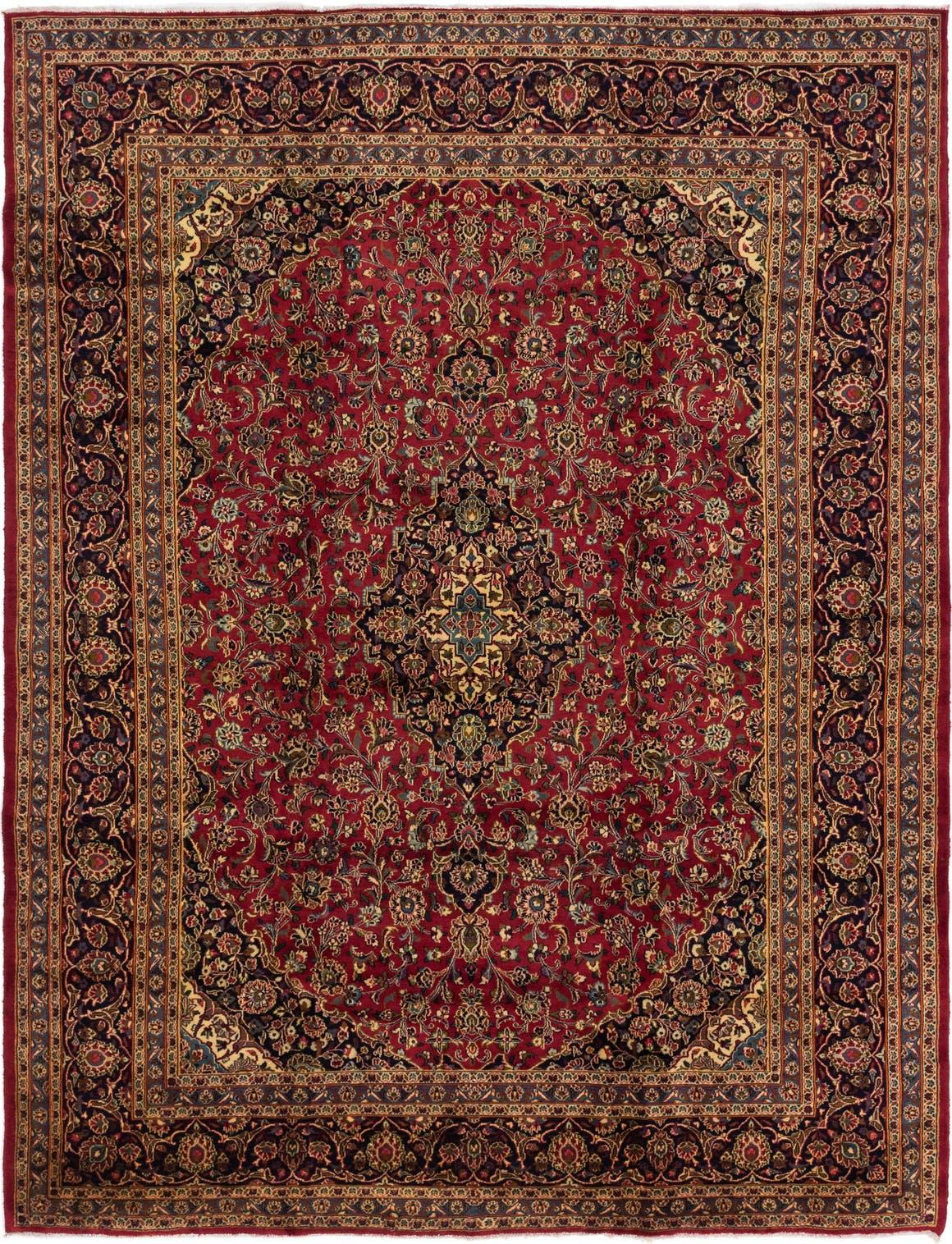 9' 6 x 12' 8 Mashad Persian Rug main image