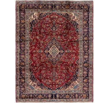9' 10 x 12' 9 Kashan Persian Rug main image