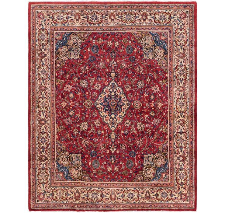 282cm x 385cm Meshkabad Persian Rug