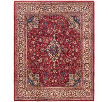 9' 3 x 12' 8 Meshkabad Persian Rug