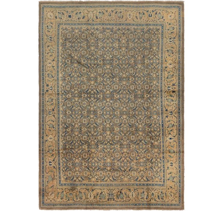 8' x 11' 7 Farahan Persian Rug