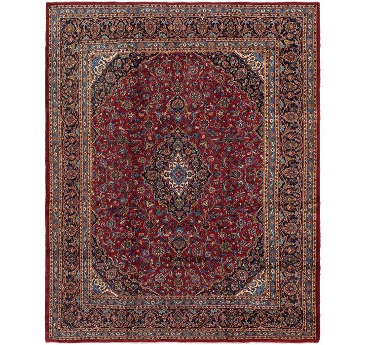 305cm x 380cm Kashan Persian Rug