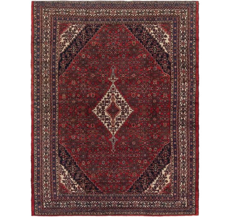 8' 7 x 11' 4 Hamedan Persian Rug
