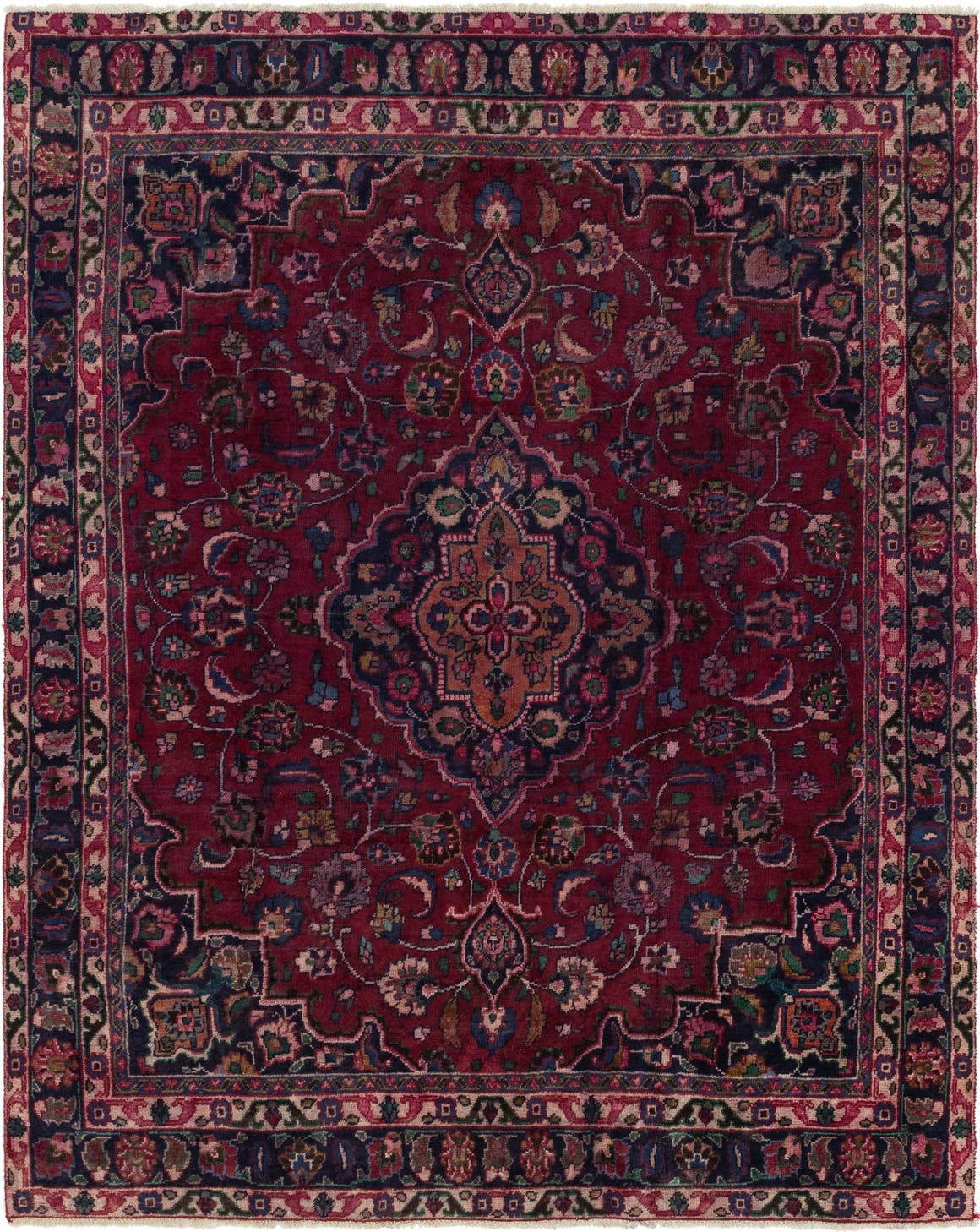 8' x 10' 5 Mashad Persian Rug main image