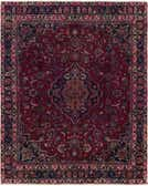 8' x 10' 5 Mashad Persian Rug thumbnail