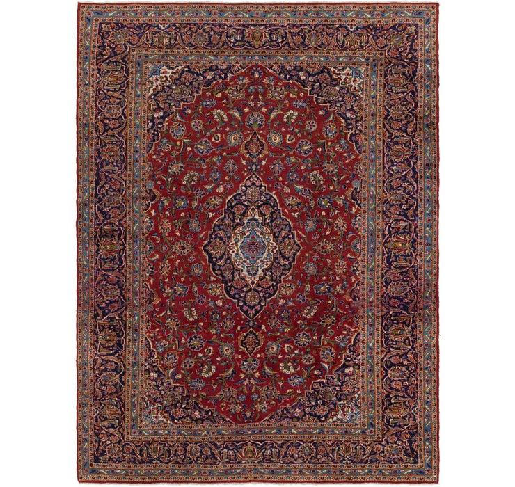 292cm x 395cm Kashan Persian Rug