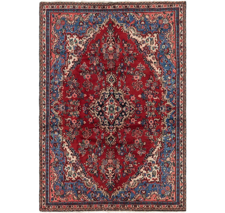 6' 6 x 9' 7 Shahrbaft Persian Rug
