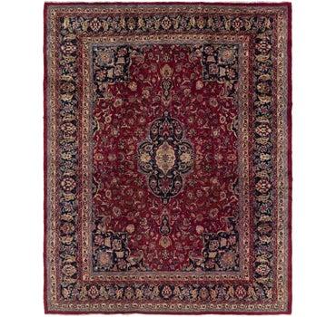 9' 10 x 12' 6 Mashad Persian Rug main image