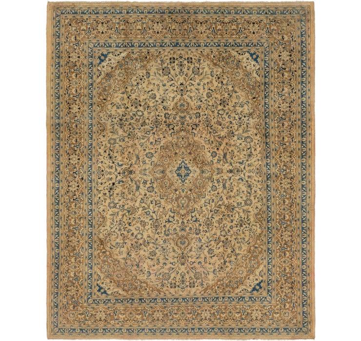 285cm x 373cm Mashad Persian Rug