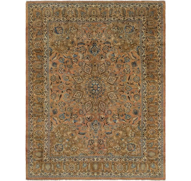 305cm x 390cm Mashad Persian Rug