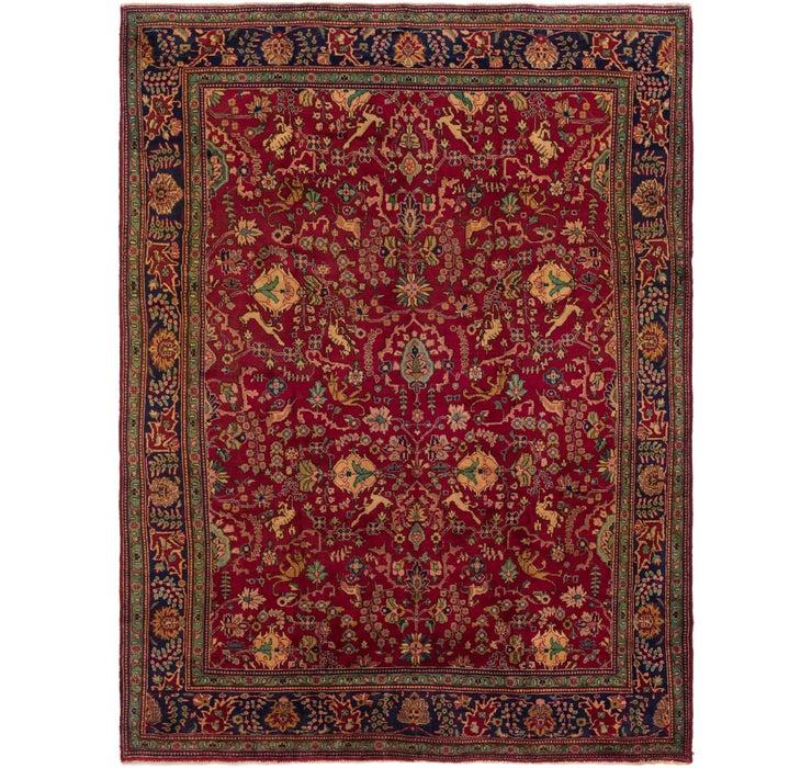 287cm x 390cm Tabriz Persian Rug