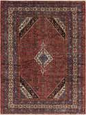 257cm x 353cm Hamedan Persian Rug thumbnail image 1