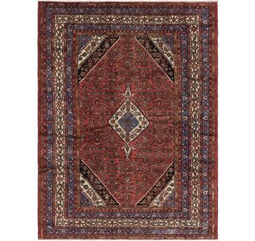 8' 5 x 11' 7 Hamedan Persian Rug main image
