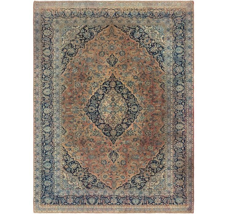 310cm x 417cm Kashan Persian Rug