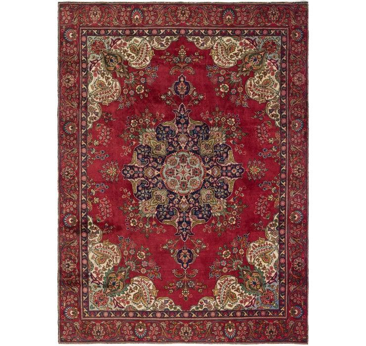 270cm x 378cm Tabriz Persian Rug