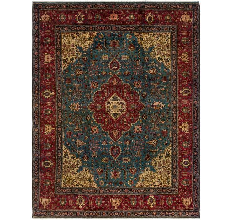 305cm x 395cm Tabriz Persian Rug
