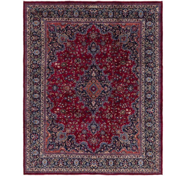305cm x 380cm Mashad Persian Rug