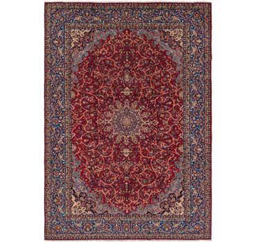 Image of 9' 6 x 13' 7 Isfahan Persian Rug