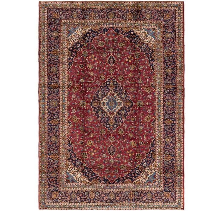 292cm x 417cm Kashan Persian Rug
