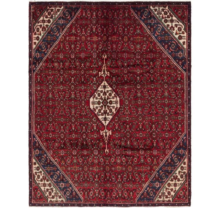 7' 2 x 9' 2 Hamedan Persian Rug