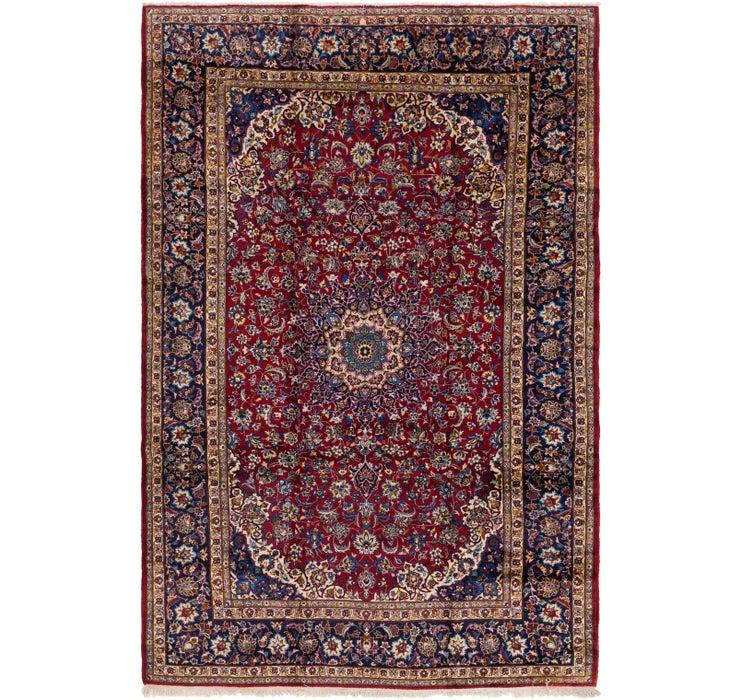 9' 10 x 14' 9 Isfahan Persian Rug