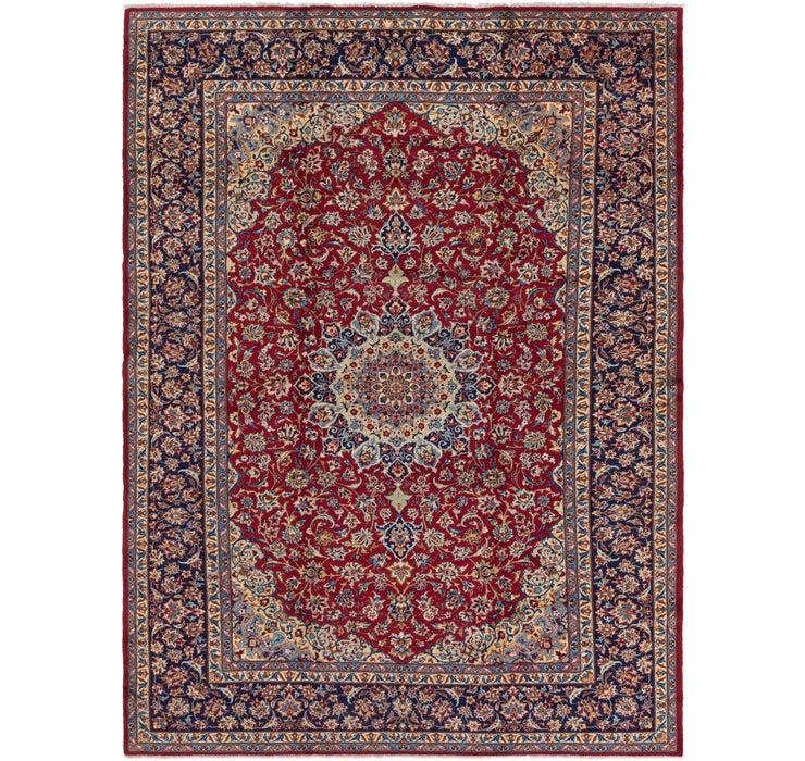 9' 10 x 13' 7 Isfahan Persian Rug