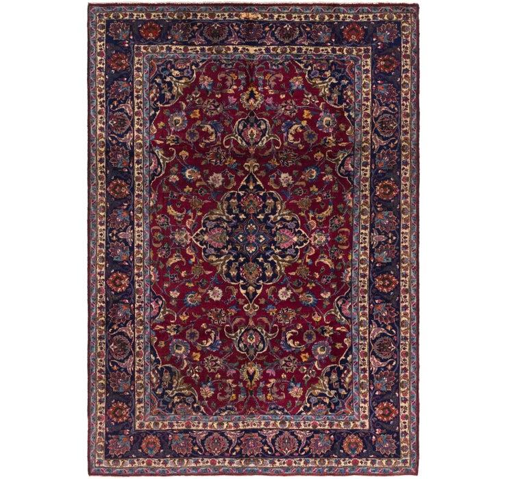 6' x 9' Mashad Persian Rug