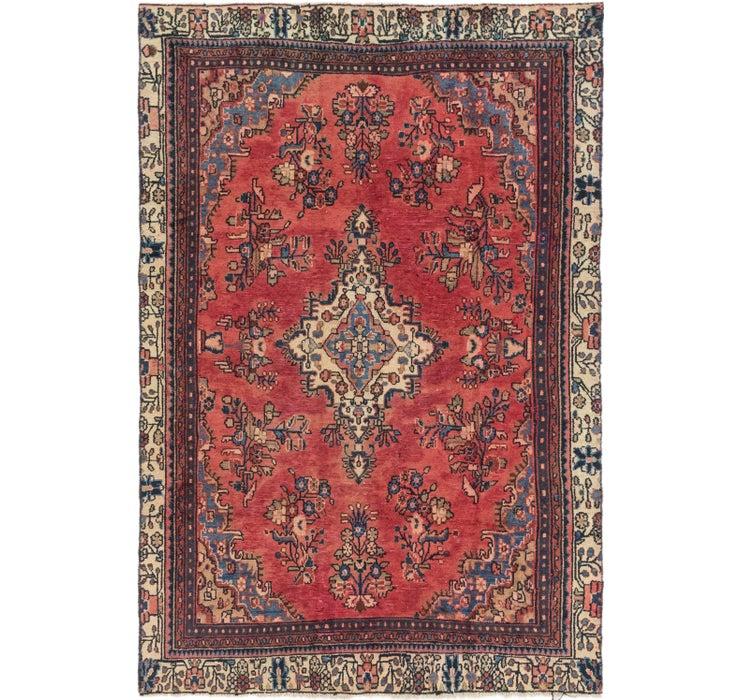 178cm x 270cm Hamedan Persian Rug