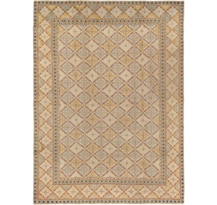 Image of 8' 9 x 11' 7 Kashan Persian Rug