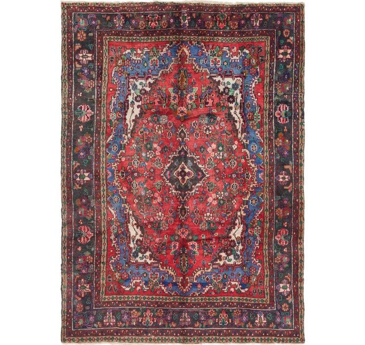 6' 9 x 9' 6 Hamedan Persian Rug